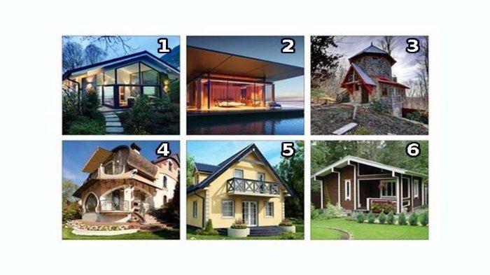 Tes Kepribadian - Pilih Satu Rumah yang Ingin Kamu Tinggali, Jawabanmu Ungkapkan Sisi Tersembunyimu