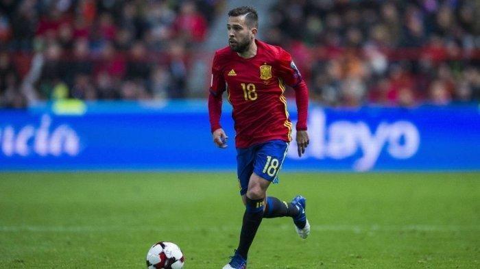 Jordi Alba Murka Jelang Euro 2020, Kecewa Timnas Spanyol Tak Bisa Bersatu Karena Hal Ini