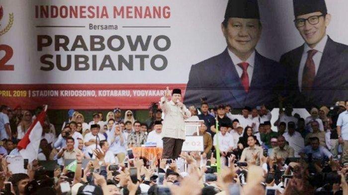 Begini Reaksi Prabowo Subianto Diminta Kader Partai Gerindra Agar Berlaga Lagi dalam Pilpres 2024