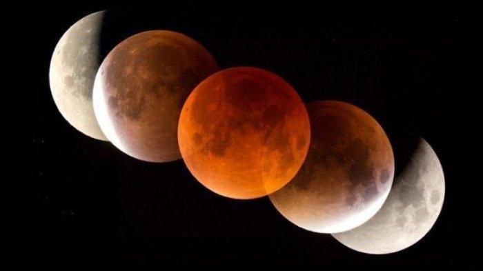 Inilah Doa yang Dibaca Rasulullah SAW saat Ada Gerhana Bulan, Lengkap dengan Sunnahnya