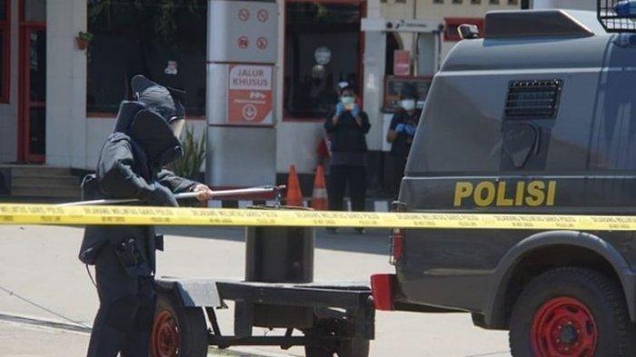 HEBOH Tas Dikira Bom di Sekitar Pos Polisi Solo Baru,Tim JihandakBeraksi TernyataIsinya Mie Instan