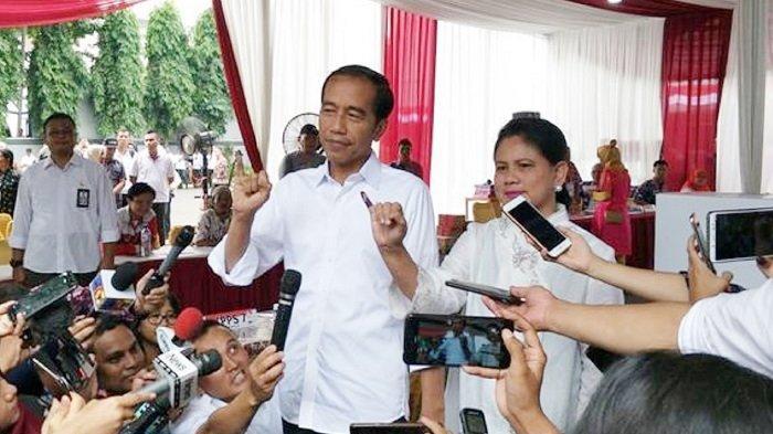 Presiden Jokowi, Iriana & Kahiyang Tak Bisa Nyoblos di Pilkada Solo 2020, karena Sudah Tak Masuk DPT