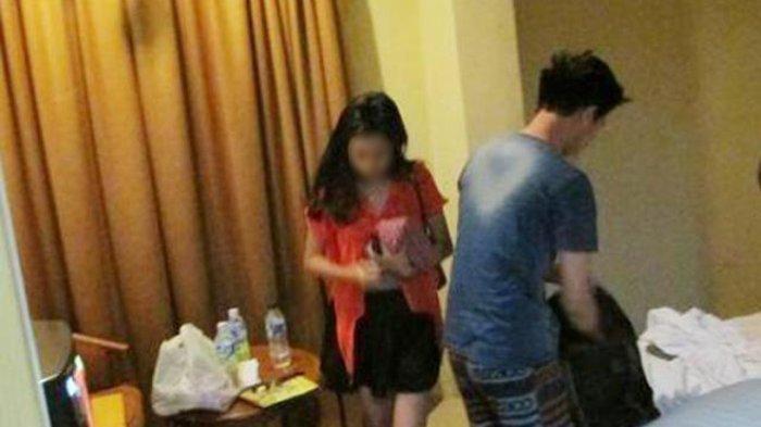 Ilustrasi kasus perselingkuhan di hotel.