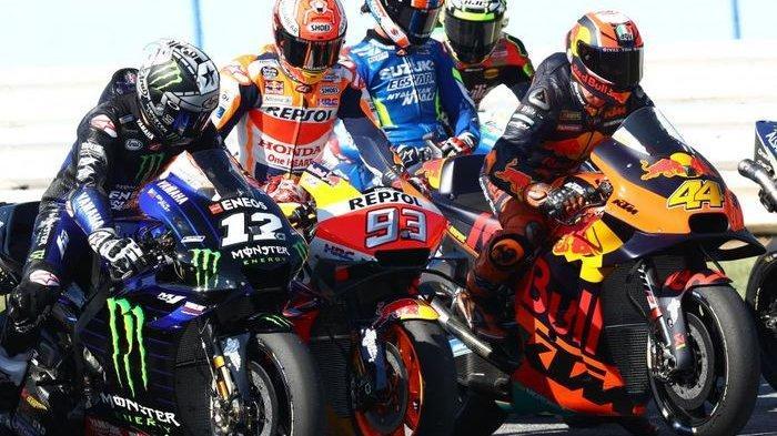 Hasil Kualifikasi MotoGP Spanyol : Fabio Quartararo Raih Pole Position, Vinales Start Posisi Ke-2