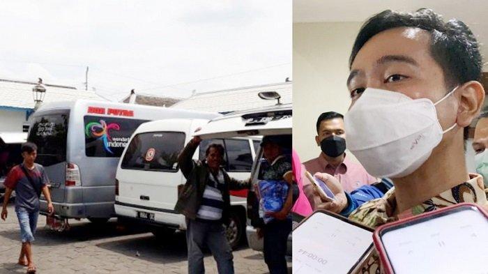 Maaf, Swab Antigen Tak Berlaku! Wali Kota Gibran Larang PKL Bermobil Luar Daerah Mangkal di Solo
