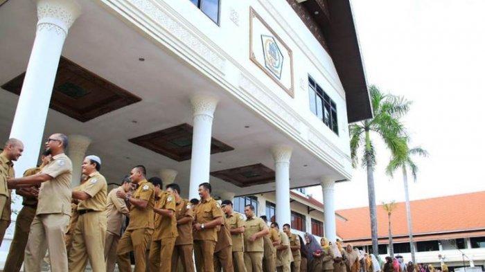 Tak Ingin Seperti Daerah Lain karena Corona, Unit Pelayanan di Pemkab Wonogiri Masih Berjalan Normal