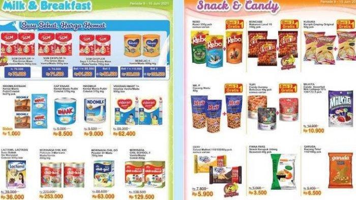 Promo Indomaret Kamis 10 Juni 2021, Ada Promo Susu Bayi hingga Makanan Ringan