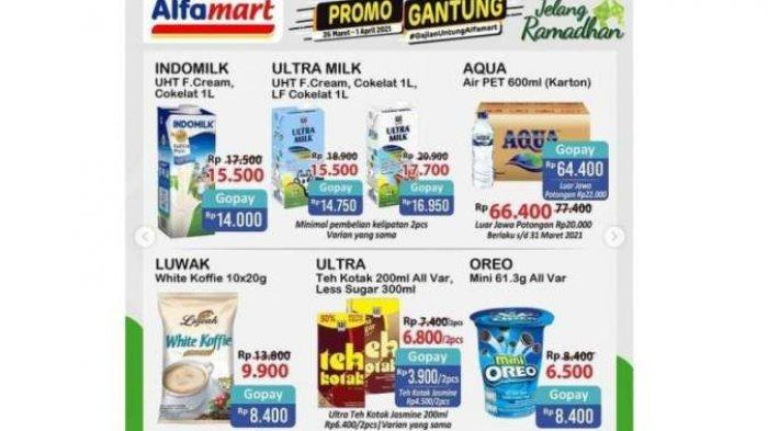 Promo Alfamart Hari Ini, Sabtu 27 Maret 2021: Ada Promo Beras hingga Minyak Goreng