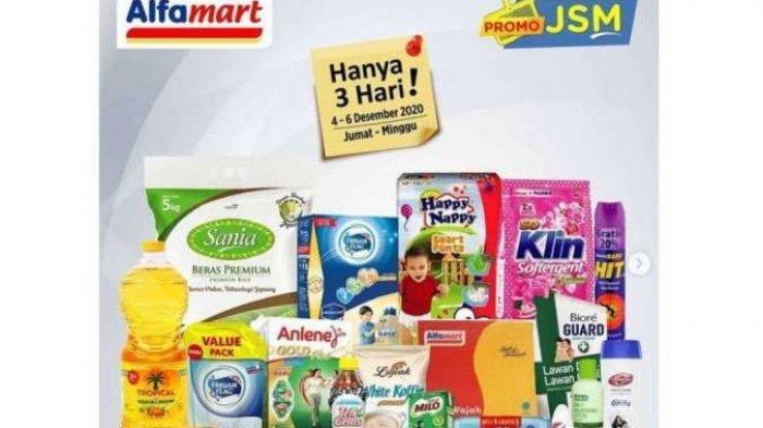 Promo Alfamart Hari Ini, Minggu 6 Desember 2020 : Ada Promo Susu Bayi hingga Beras