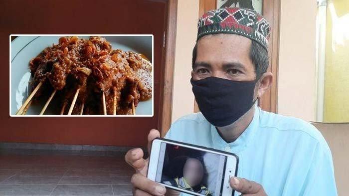 Ilustrasi sate ayam beracun yang tewaskan bocah di Bantul.