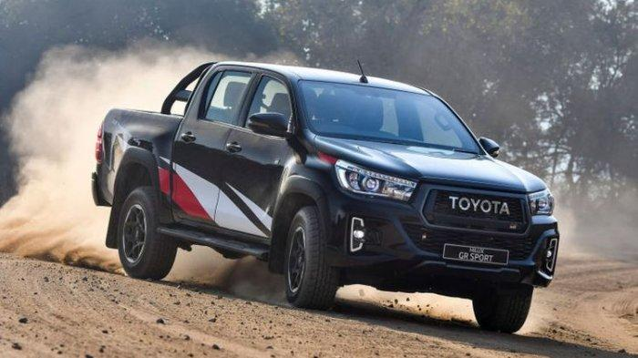 Penampakan Toyota Hilux 2021, Bakal Punya Mesin yang Lebih Besar