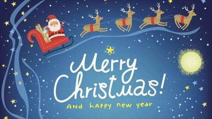 Kumpulan Ucapan Selamat Natal & Tahun Baru 2020 dalam Bahasa Inggris, Cocok Diucapkan untuk Keluarga