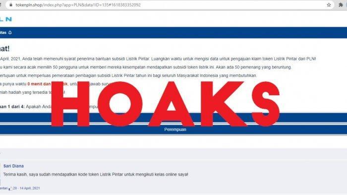 Waspada Penipuan Pendaftaran Subsidi Listrik PLN Melalui Website