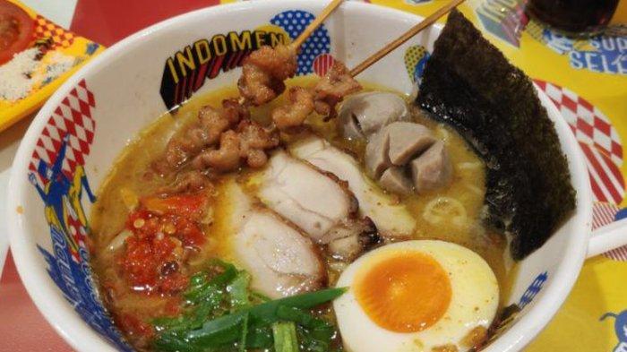 Kreasi Indomie Disajikan dengan Kuah Ramen, Harga Mulai Rp 26 Ribuan
