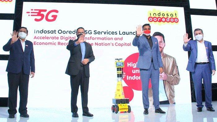 Indosat Ooredoo Luncurkan Layanan 5G di Jakarta untuk Mendukung Industri 4.0