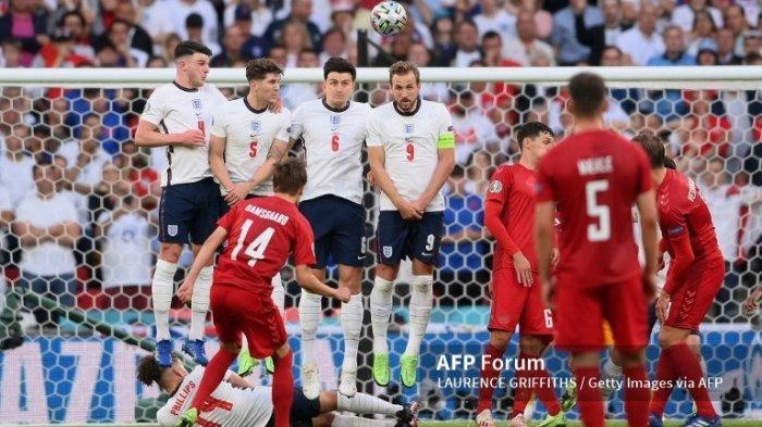 Gol Damsgaard Saat Berhadapan dengan Inggris Dianggap Melanggar Hukum FIFA
