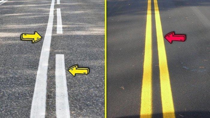 Arti Marka Kuning di Tengah Jalan Raya, Tak Sekadar Agar Mencolok, Ternyata untuk Penanda Identitas