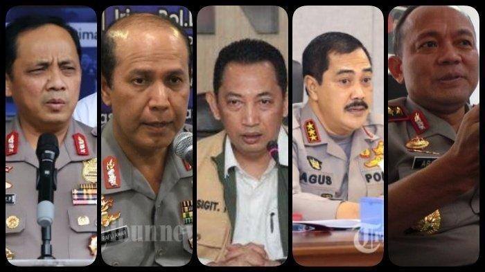 Profil 5 Jenderal Calon Kapolri yang Diusulkan ke Presiden Jokowi, Ada Mantan Kapolresta Solo