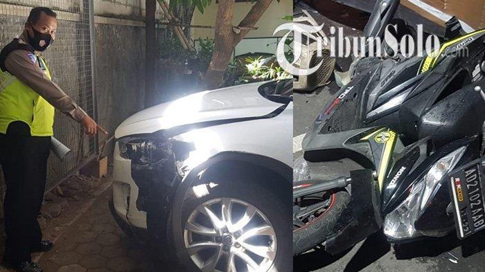 Tabrak Lari Terjadi Lagi di Solo, Polisi Cepat Cokok Pengemudi Mobil Mazda, Korban & Pelaku Berdamai