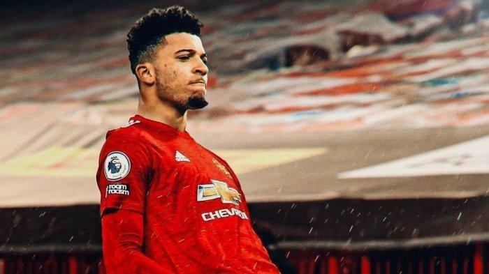Jadon Sancho berlabuh ke Manchester United.