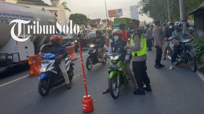 Ini Info Lokasi Cegatan PPKM Darurat di Klaten, Catat Syarat Dokumen yang akan Diminta Polisi