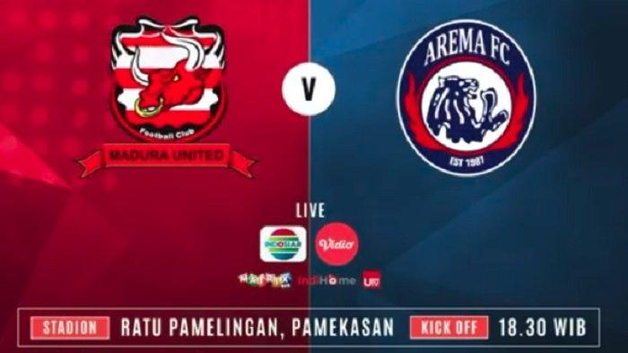 Jadwal Liga 1 Sabtu (20/7/2019): Madura United Vs Arema FC, Laga Penuh Gengsi Derby Jawa Timur