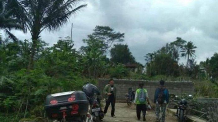 Warga Tutup Jalan Pakai Tembok di Wonosobo karena Kalah Pilkades