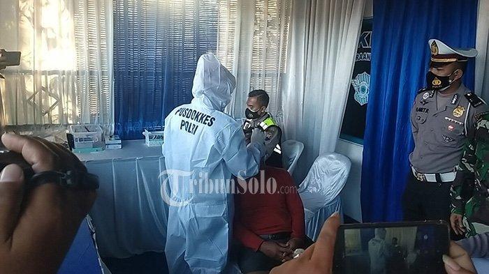 Operasi Penyekatan di Prambanan Klaten, 4 Orang Jalani Swab Antigen: Hasilnya Negatif