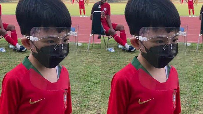 Kaesang Posting Video Jan Ethes Nonton Laga Persis Solo Vs Bhayangkara FC, Gibran: Saya yang Ajak