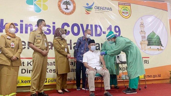 Info Vaksinasi di Solo : Ada Kuota 500 Orang di RS Ortopedi dan 100 di Depan Rumdin Wakil Wali Kota