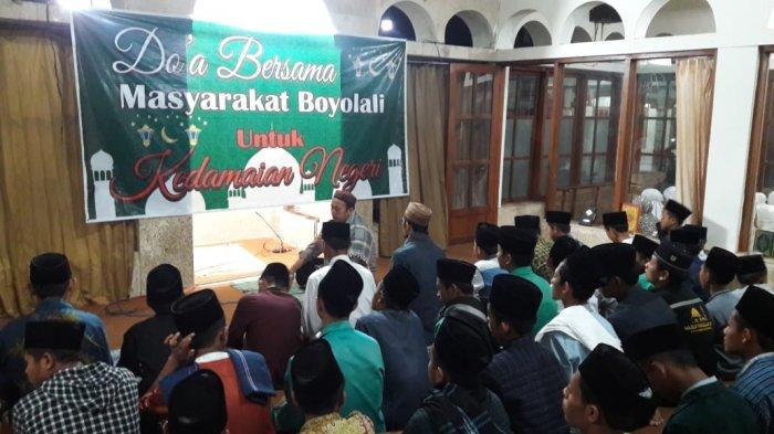 H-9 Pengumuman Pemilu2019, Masyarakat Boyolali Doa Bersama untuk Kedamaian Negeri