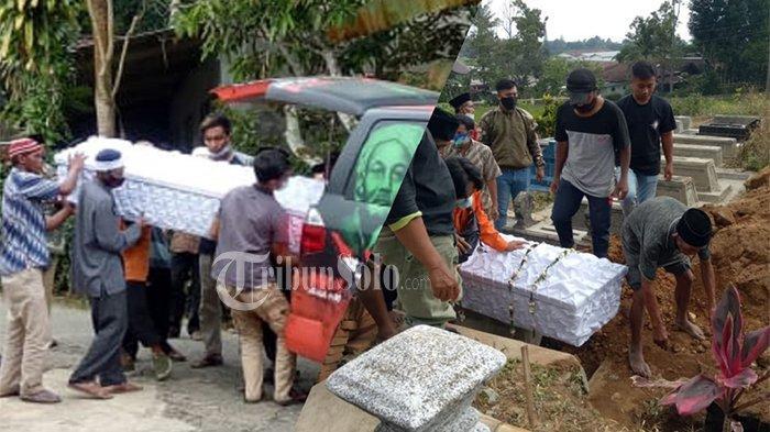 Isak Tangis Pecah, Sambut Jenazah hingga Pemakaman Korban Keracunanan di Karangpandan : 'Ibu, Ibu'