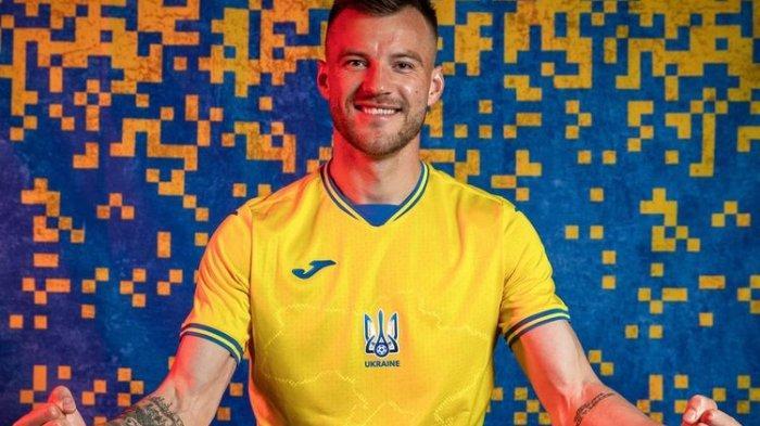 Jersey Timnas Ukraina untuk Euro 2020 Diprotes Rusia, Begini Penjelasannya