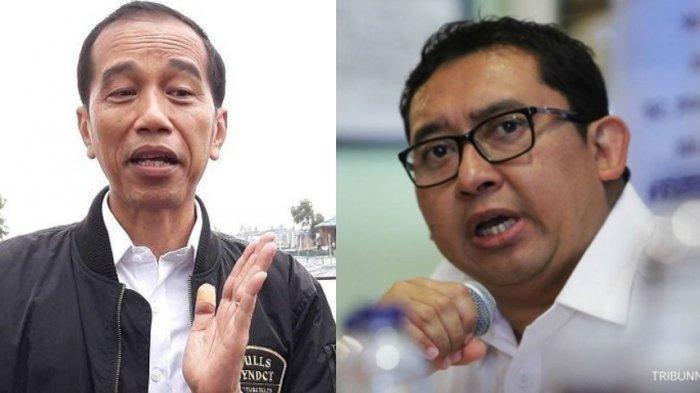 Jari Jokowi Dipatil Udang, Fadli Zon: Tanda-tanda Wahyu Keprabon Sudah Melayang