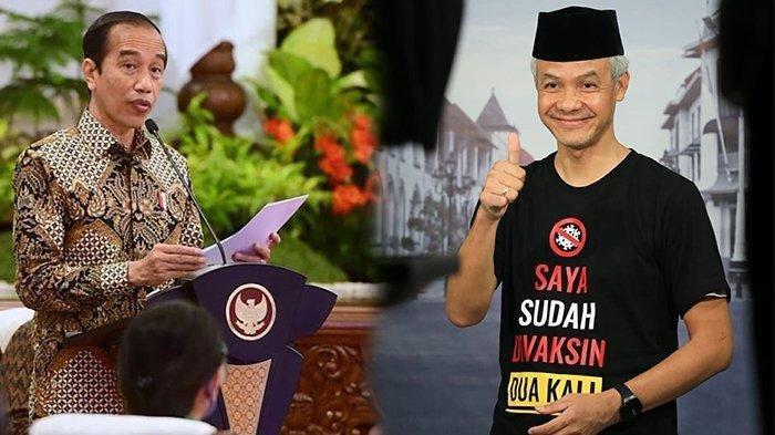 Ultimatum Jokowi ke Ganjar soal 11 Zona Merah di Jateng: Kalau Kesulitan, Bakal Kerahkan TNI-Polri