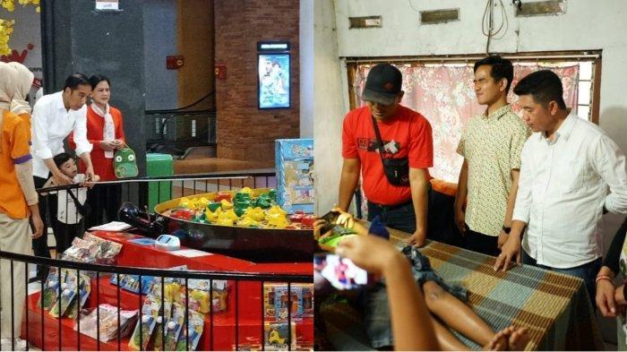 Jokowi Pulang Kampung ke Solo Momong Jan Ehtes ke Mall, Gibran Blusukan ke Acara Sunatan Massal