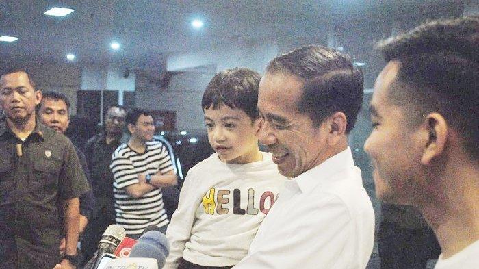 Cucu Ketiga Presiden Jokowi Bernama La Lembah Manah, Apa Arti Nama La yang Dimaksud Gibran?