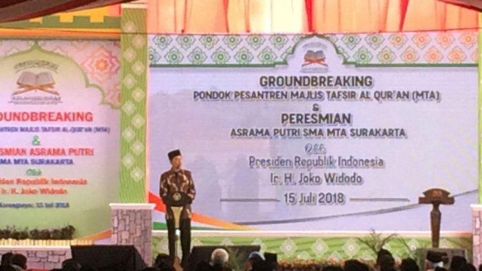 Pidato di Karanganyar, Jokowi: Jangan Karena Perbedaan Politik, Kita Tak Tegur Sapa dengan Tetangga