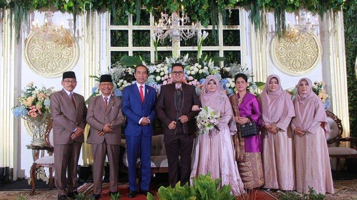 Jokowi dan Zulkifli Hasan Hadiri Pernikahan Putra Ustaz Ahmad Sukina di Karanganyar