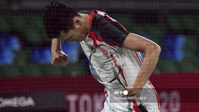 Tekuk Penakluk Lin Dan, Jonatan Christie Amankan Tiket Fase Knock Out Olimpiade Tokyo 2020