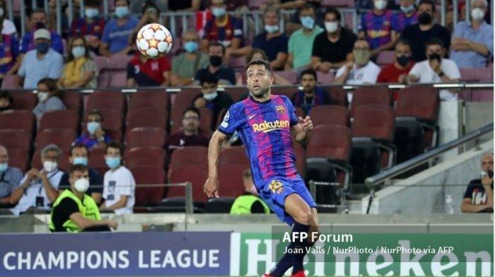 Barcelona Vs Bayern Muenchen, Kondisi Jordi Alba: Cedera Hamstring Hingga Deman 38,5 Derajat Celsius