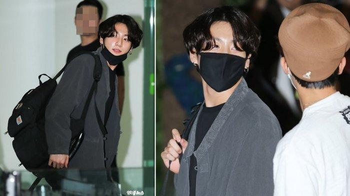 Jungkook BTS Kenakan Hanbok saat Pergi ke Jepang, Penggemar Sempat Tak Percaya soal Penampilannya