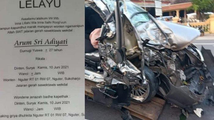 Kecelakaan Maut Honda City Vs Truk Wonogiri: Pemandu Lagu Tewas, Kini Sopir Truk Diamankan Polisi
