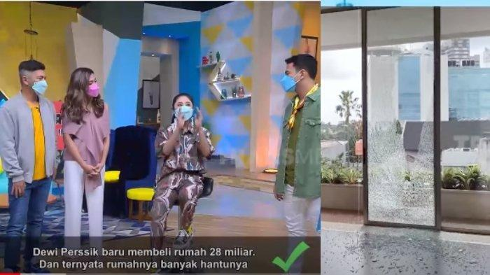 Dewi Perssik Ungkap Kejanggalan di Rumah Baru Seharga Rp 28 Miliar, Sudah 2 Kali Kaca Pecah Sendiri