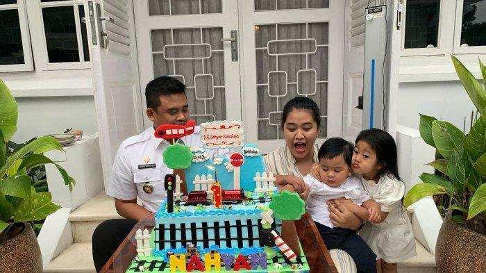 Kahiyang dan Bobby Rayakan Ultah Anak Bersamaan, Tanggal Lahir Sedah Mirah dan Panembahan Berdekatan