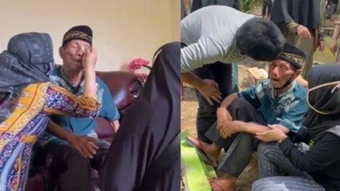 Viral Kisah Kakek di Samarinda Menangis saat Ditinggal Wafat Istri, Bukti Cinta Sejati