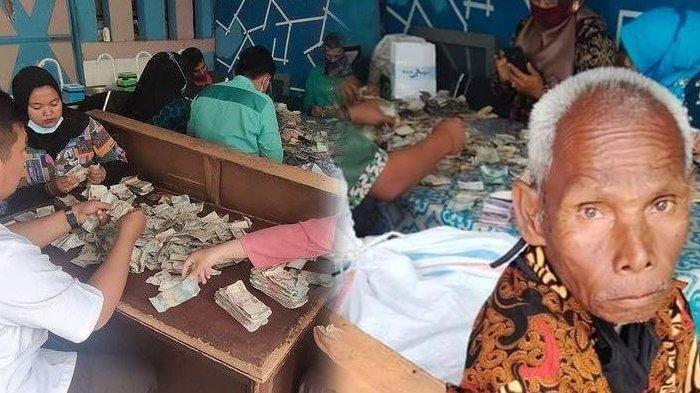 Ingat Kakek Biok yang Viral karena Simpan Uang Rp 177 Juta dalam Karung? Kini Ia Dibuatkan Rumah