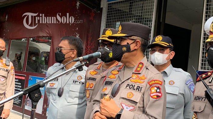 Kakorlantas Kunjungi Solo, Sebut Sudah Dirikan 150 Posko Cek Poin di Kawasan Zona Merah