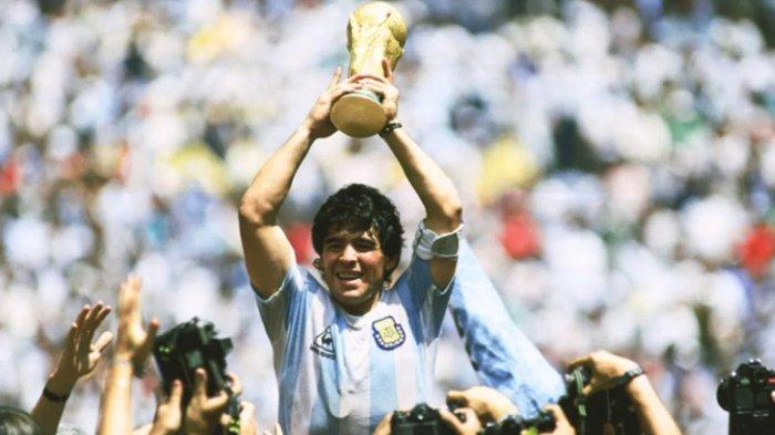 Diego Maradona Ternyata Tak Pernah Menang Ballon d'Or Meski Berstatus Legenda, Ini Penyebabnya