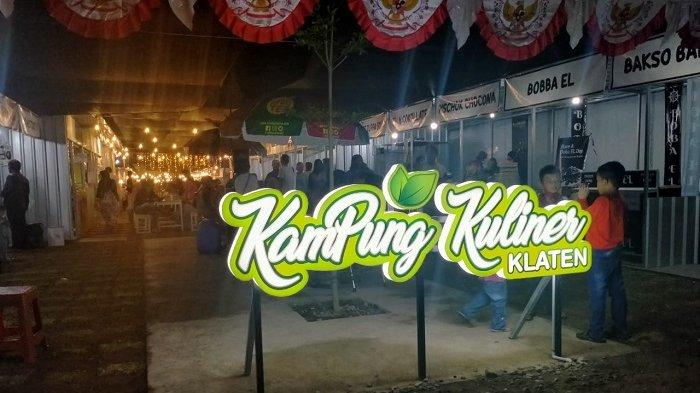Alternatif Wisata Klaten: Kampung Kuliner di Jetak Kidul Karanganom, 37 Penjual dengan Menu Berbeda